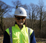 Bethan. Site Engineer. Raymond Brown Construction.