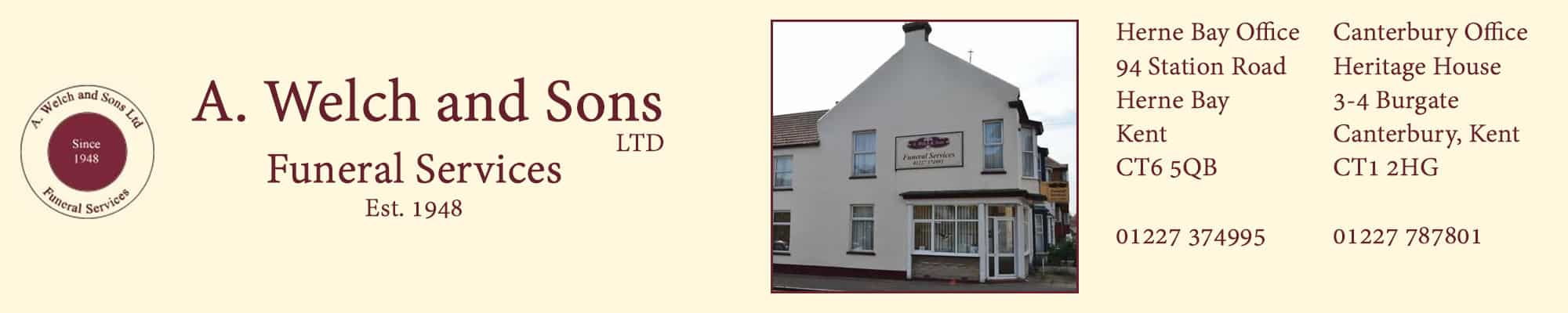 A Welch and Sons Funeral Services