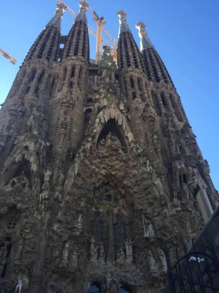 Facade of the Sagrada Familia
