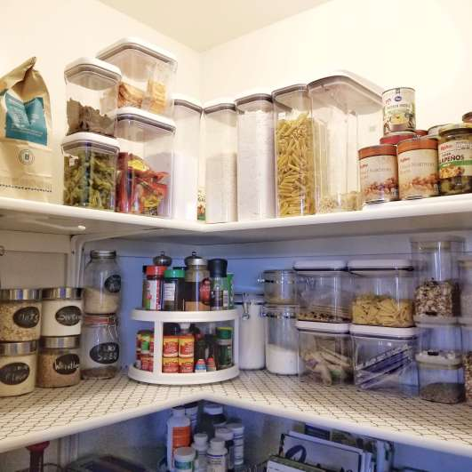 How I organized my pantry in 10 steps