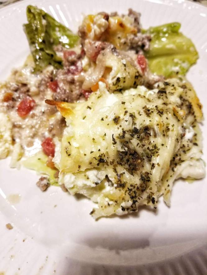 Low Carb Cabbage Lasagna