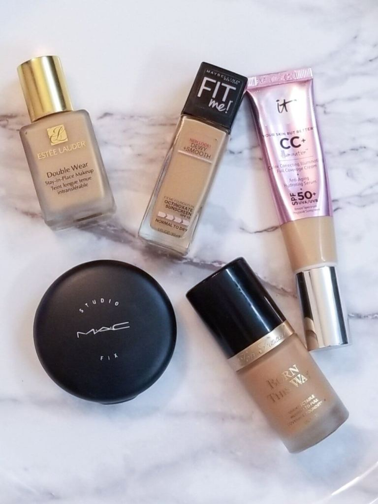 My Favorite Face Foundations