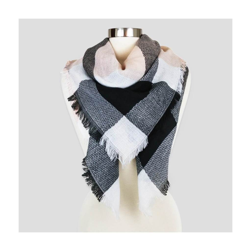 gorgeous must have plaid scarves & how to style them