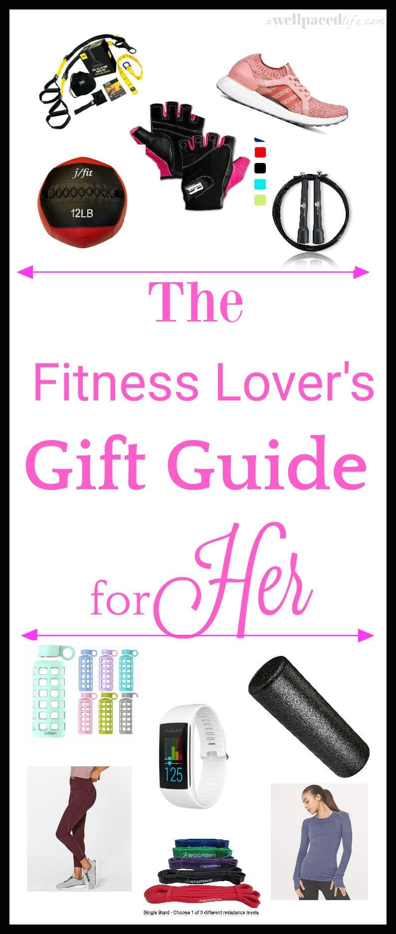 the fitness lovers gift guide for her