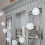 How To Make A Diy Pom Pom Garland For Christmas A Well Purposed Woman