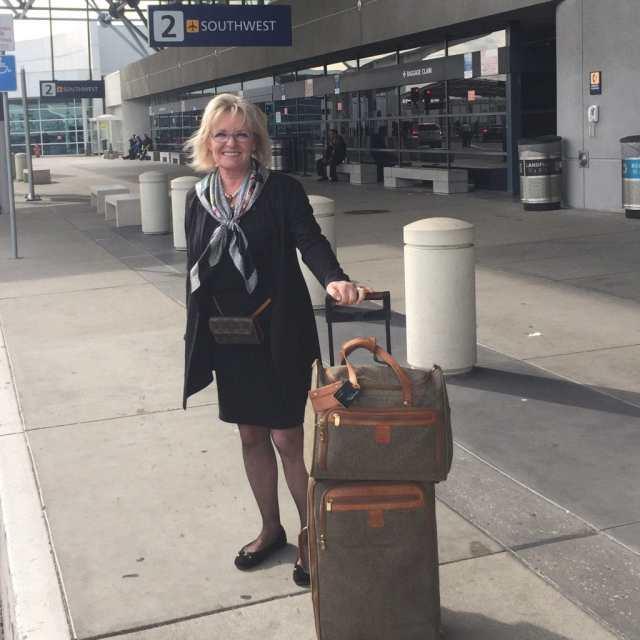 black Eileen Fisher for travel