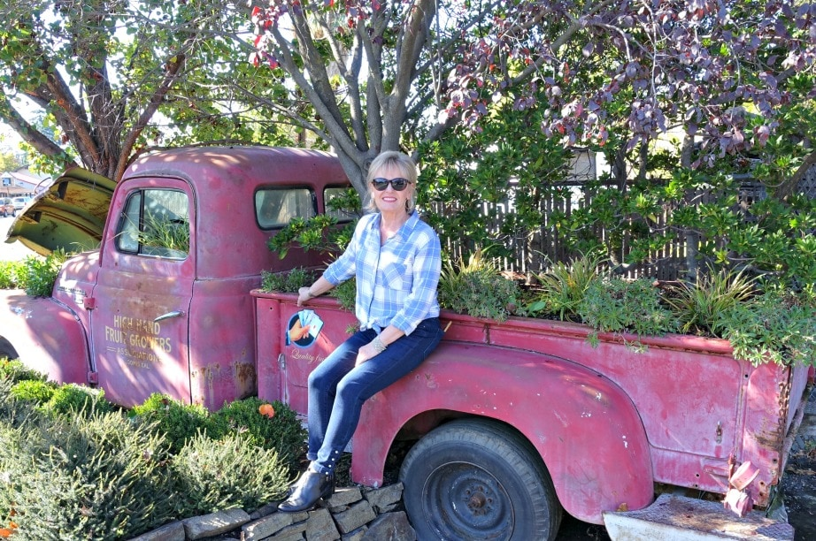 styling plaid and pearls in Loomis CA