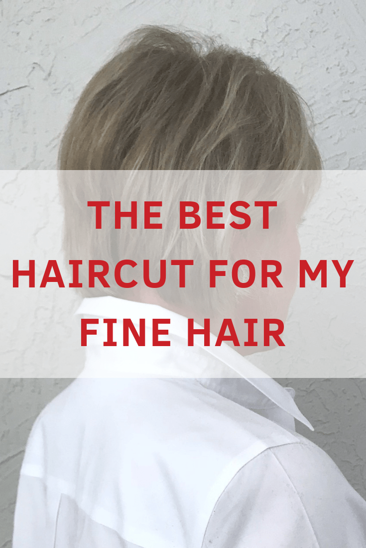 Jennifer Connolly of A Well Styled Life sharing the best haircut for her fine hair