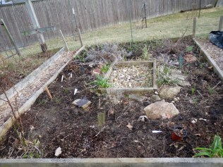 Herb Bed AFTER Clean Up - 2/27/17