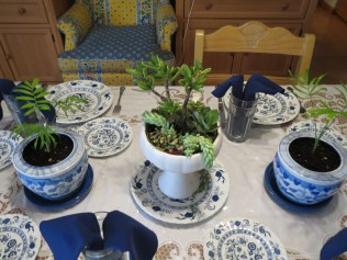 Kitchen Table Setting