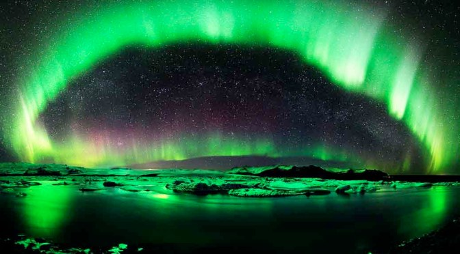 world saw auroras