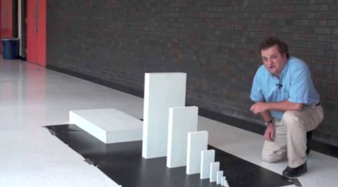 The Domino Effect Physics Can be Pretty Incredible