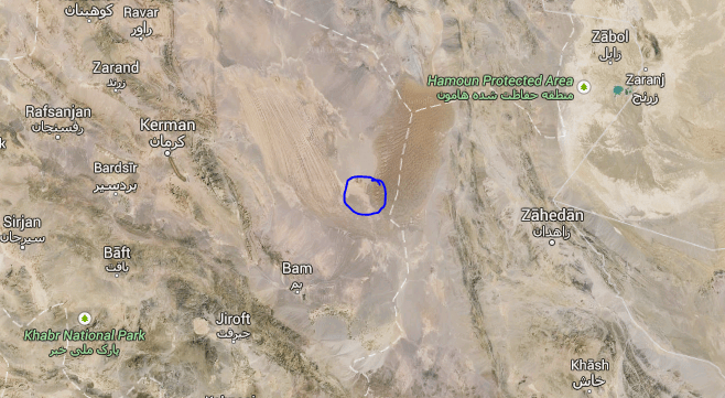 lut desert hottest place on earth