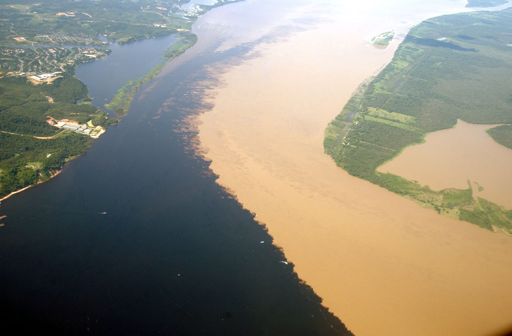 Image result for Rio Solimoes Rio Negro