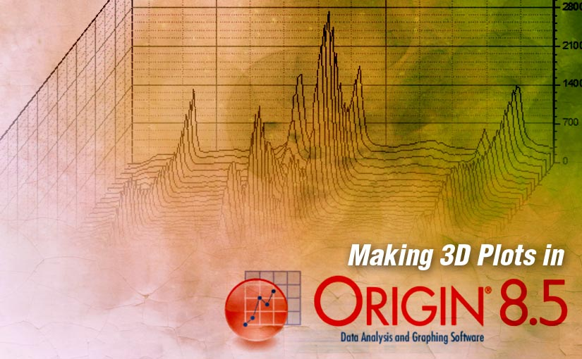 Making 3D Plots in OriginLab OriginPro