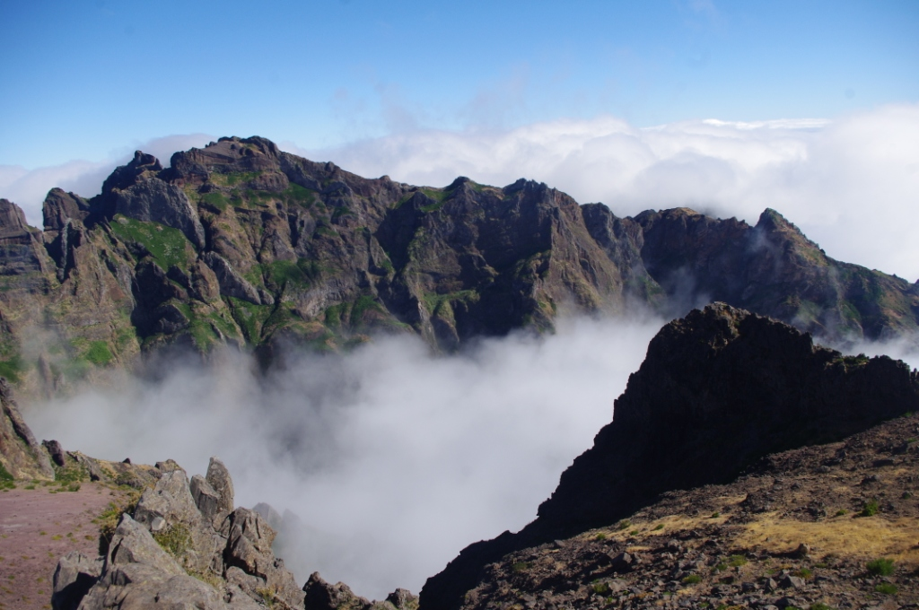 Madeira Teil 4 - Auf dem höchsten Gipfel der Insel