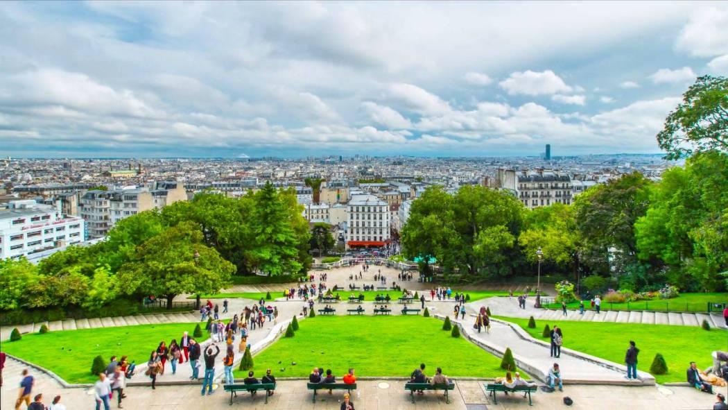 Paris 4 k Hyperlapse Screencap