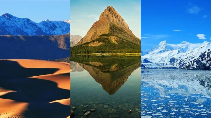 Eine atemberaubende Minute – Alle 59 US-Nationalparks in 60 Sekunden