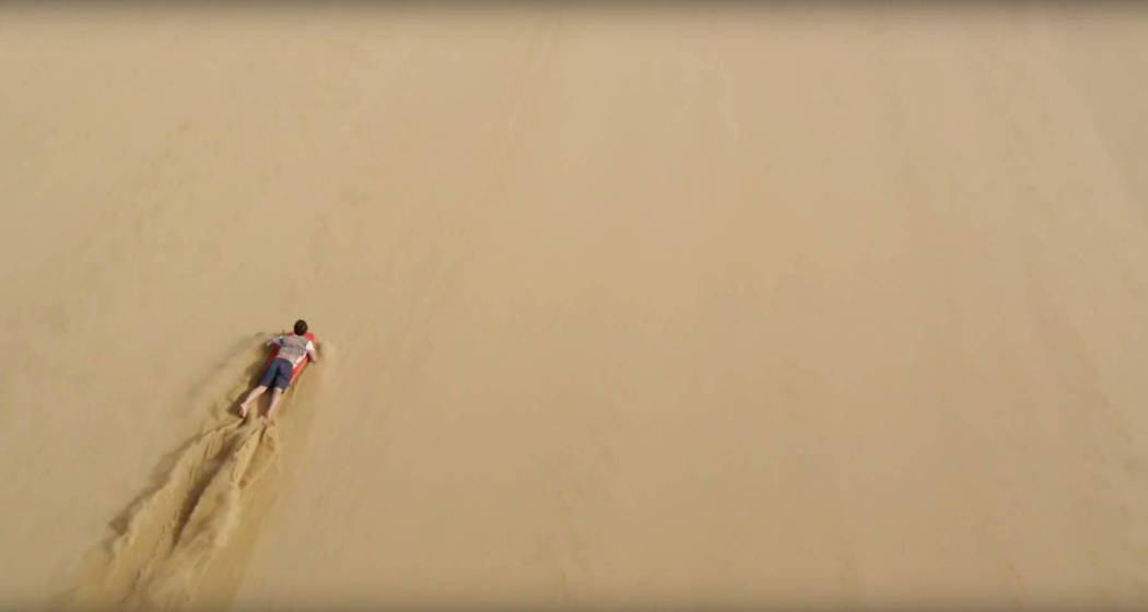 Sandboarding Supertramp style Screencap 2