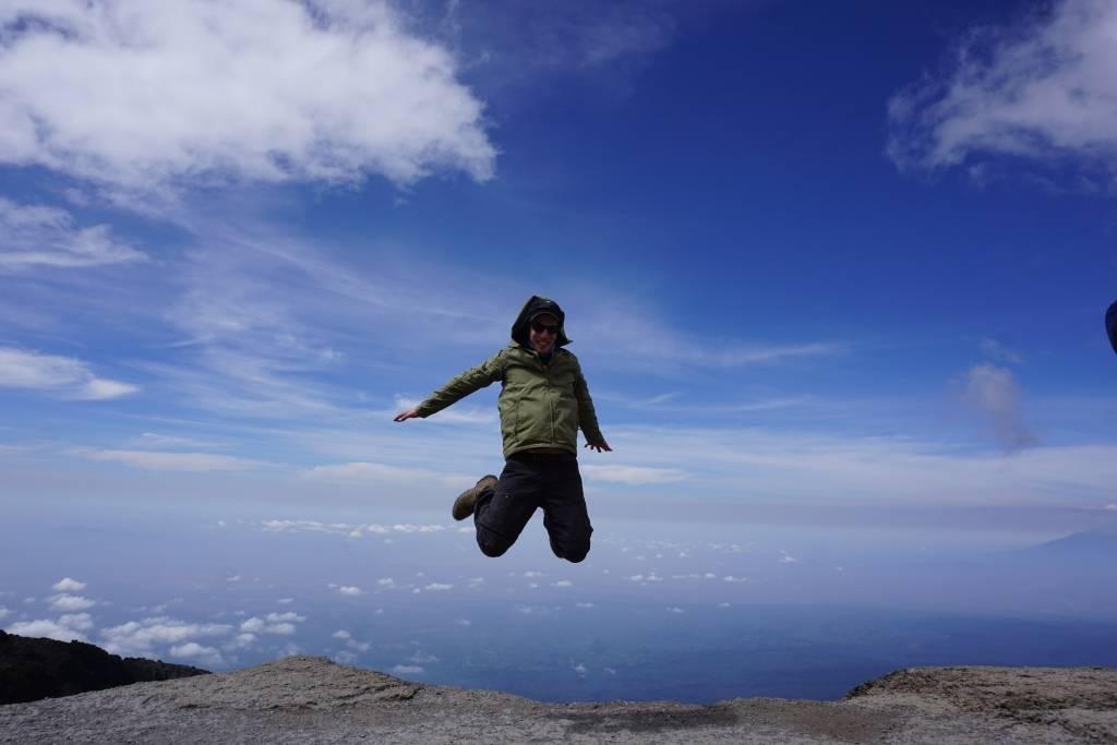 Kilimandscharo Besteigung - Die Luft wird dünner