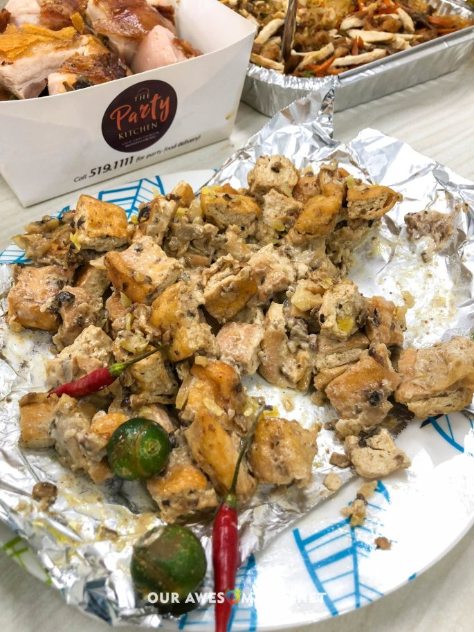 Tofu Shiitake Mushroom Sisig