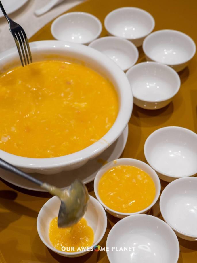 Pumpkin Seafood Soup