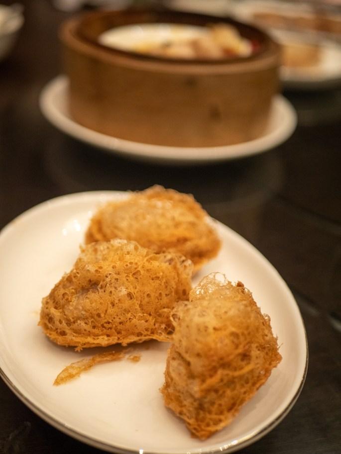 Seafood taro puff