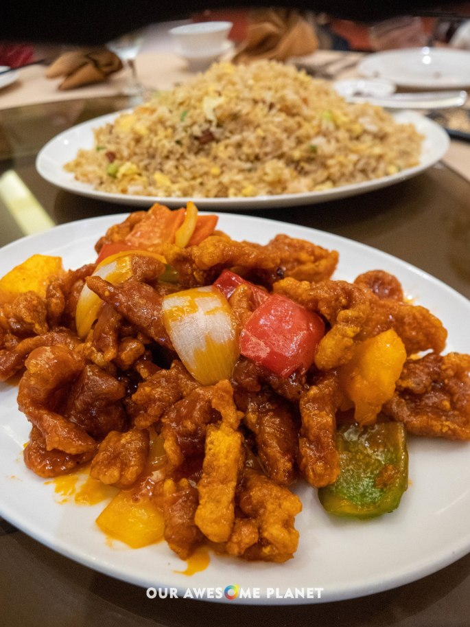 Sweet and Sour Pork with Pineapples