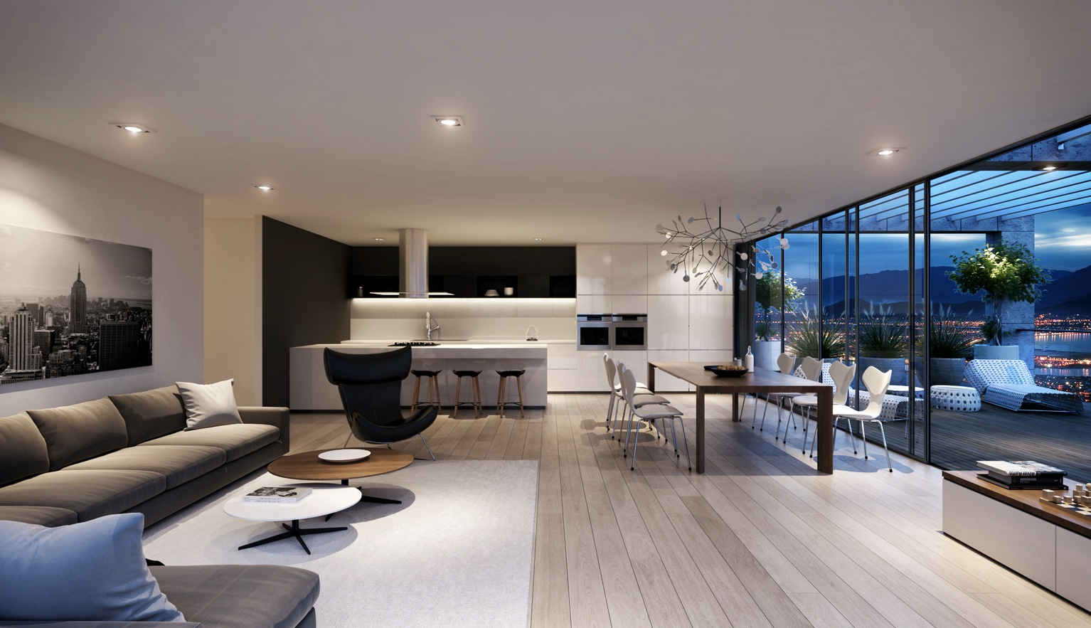 11 Awesome And Trendy Modern Living Room Design Ideas ... on Living Room Decor  id=92826