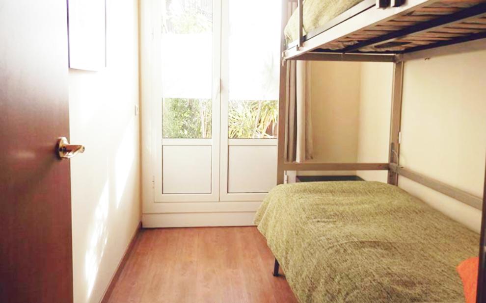 10 Best Barcelona Hostels: best affordable places to stay in Barcelona Spain: barcelona central garden hostel