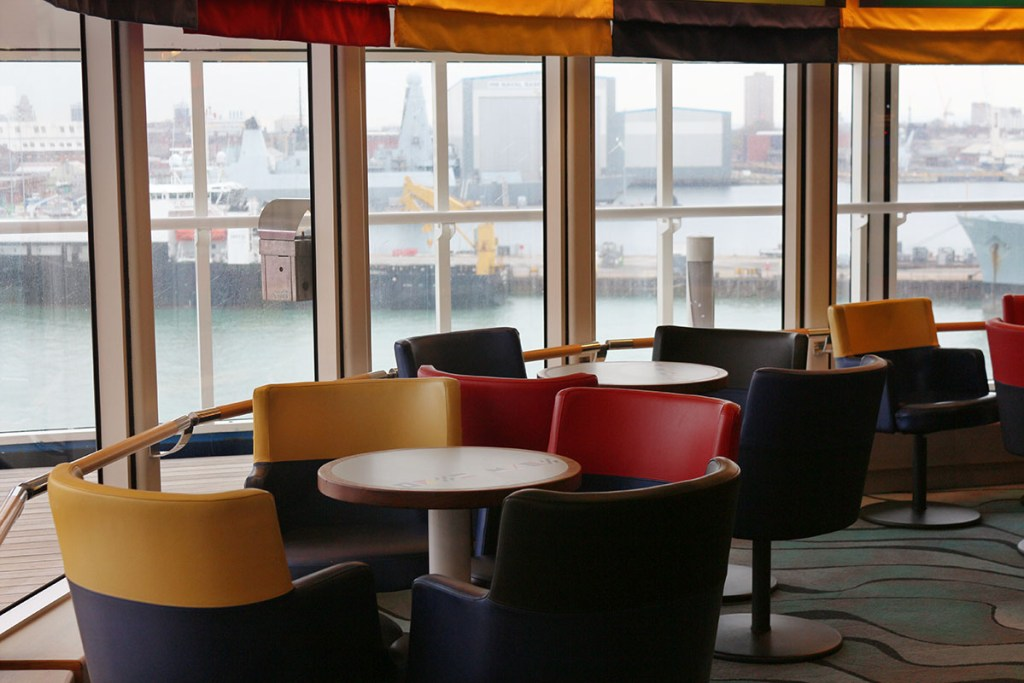 lBrittany Ferries lounge
