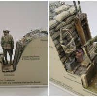 Man Resurrects WWI Trench Warfare Through Detailed Models Of WWI Trenches