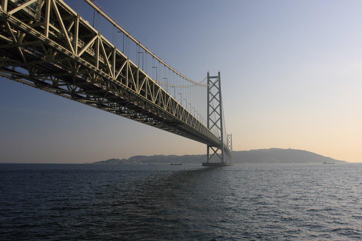 The Akashi Kaikyō Bridge (The Pearl Bridge, Japan)