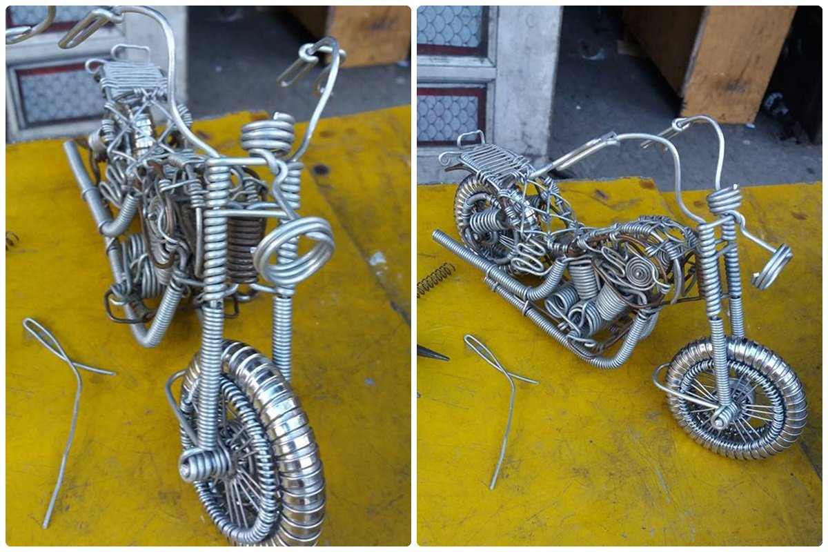 52-Year-Old Filipino Sets The Social Media Abuzz By His Incredible Creations Made From Aluminum Wires image 8
