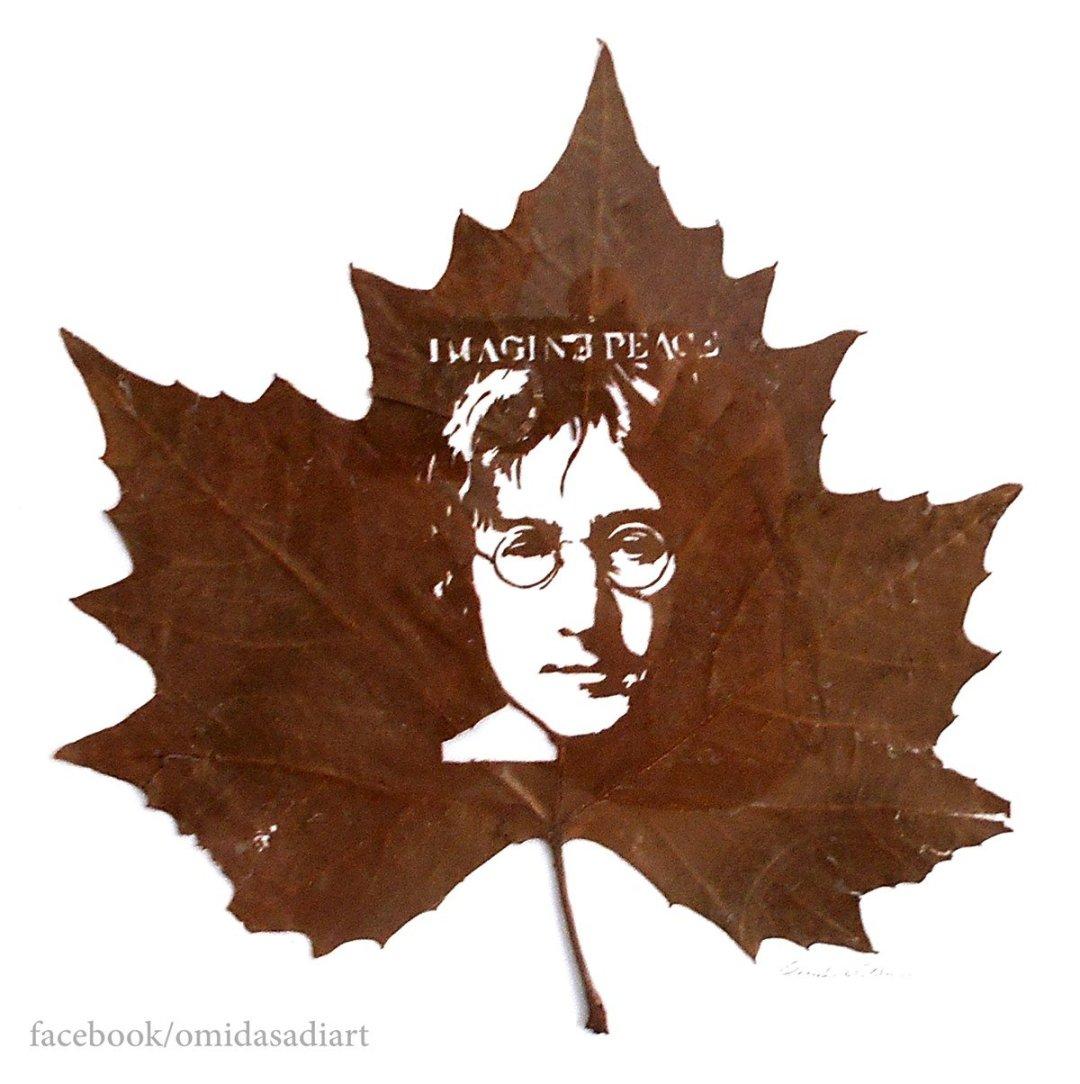 Omid Asadi Leaf Art Image 5