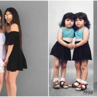 Trendsetting Pretty Identical Twins Rule The Social Media