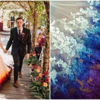 This Artist Offers Unique Wedding Dresses Dyed In Vibrant Colors