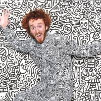 The Complex Doodling Of This Master Doodler Delights One And All
