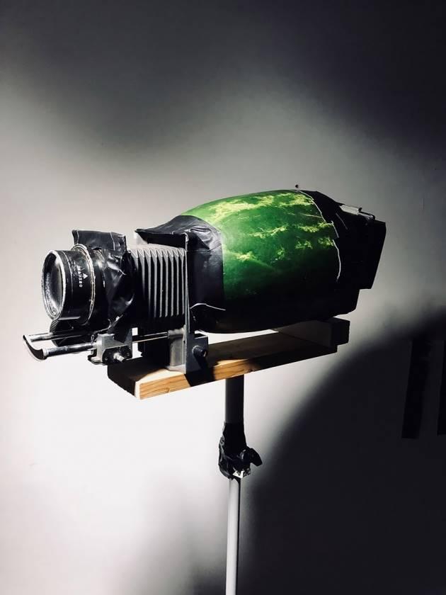 4×5″ Watermelon Camera