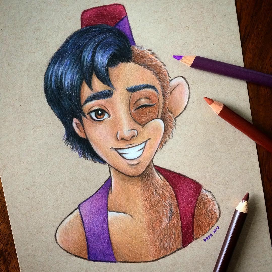 dada artworks Aladdin