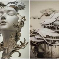 Chinese Artist's Unique Handcrafted And Stunningly Detailed Sculptures Create A Storm On The Internet
