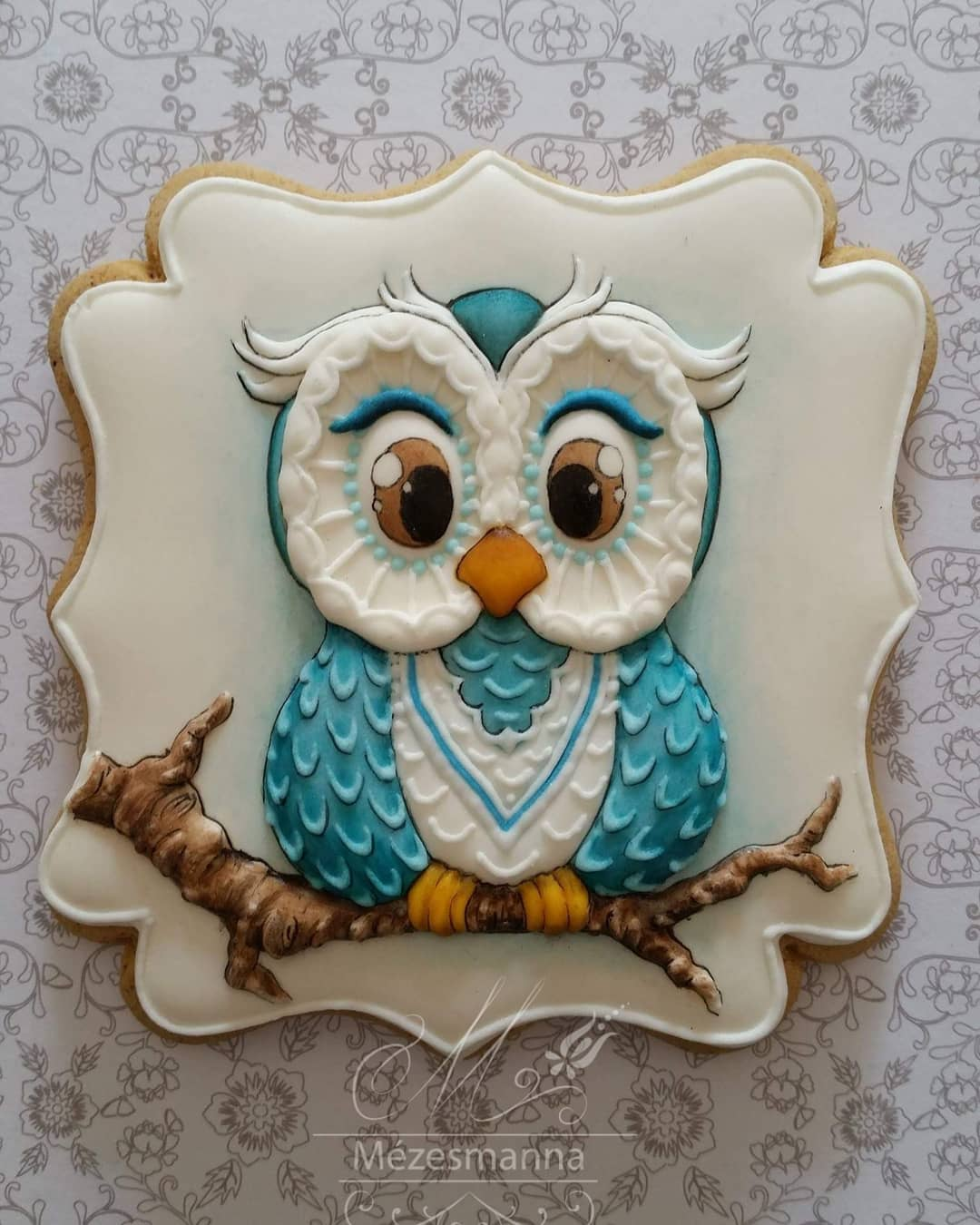 Embroidery-Inspired Cookies Of Hungarian Chef Are Fit To Be Framed, Not Eaten 2