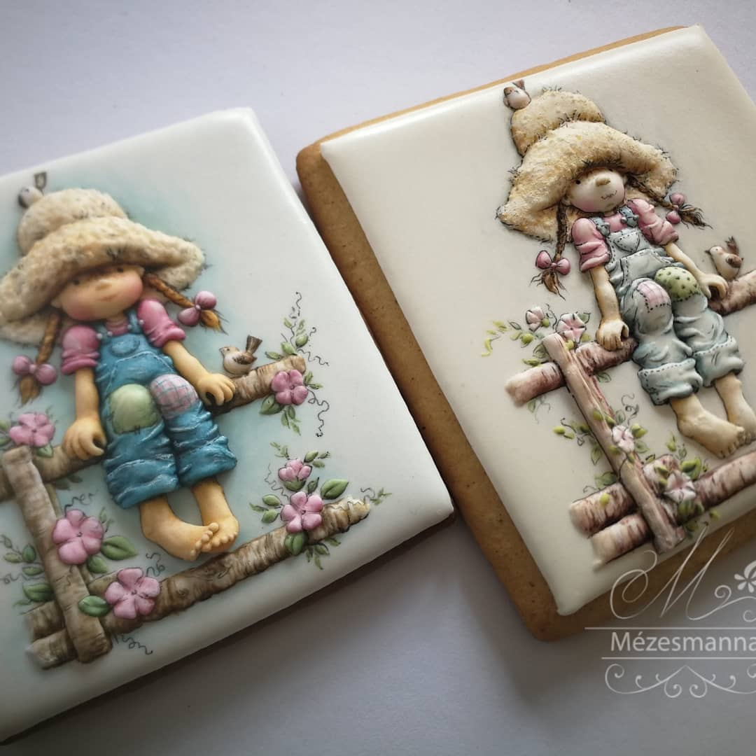 Embroidery-Inspired Cookies Of Hungarian Chef Are Fit To Be Framed, Not Eaten 5