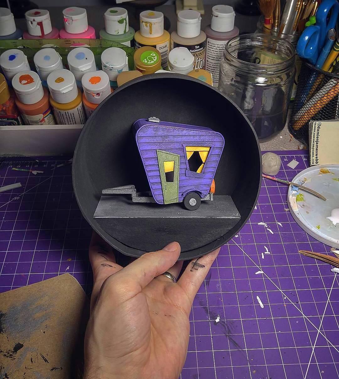 Model Maker Displays A Remarkable Eye For Detail In Making Adorable Miniature Models 8