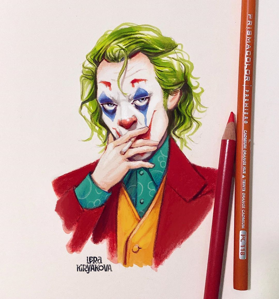 Russian Artists Distinctive Drawing Style Infuses A New Life Into Celebrity Cartoons 9