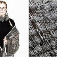 Fashion Trendsetter Creates Dresses with Safety Pins