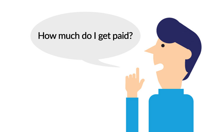 How much getting paid?