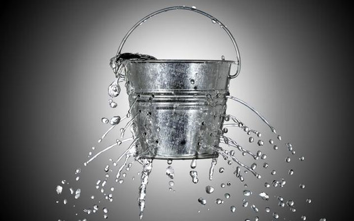Systems = Leaky Bucket Plugs