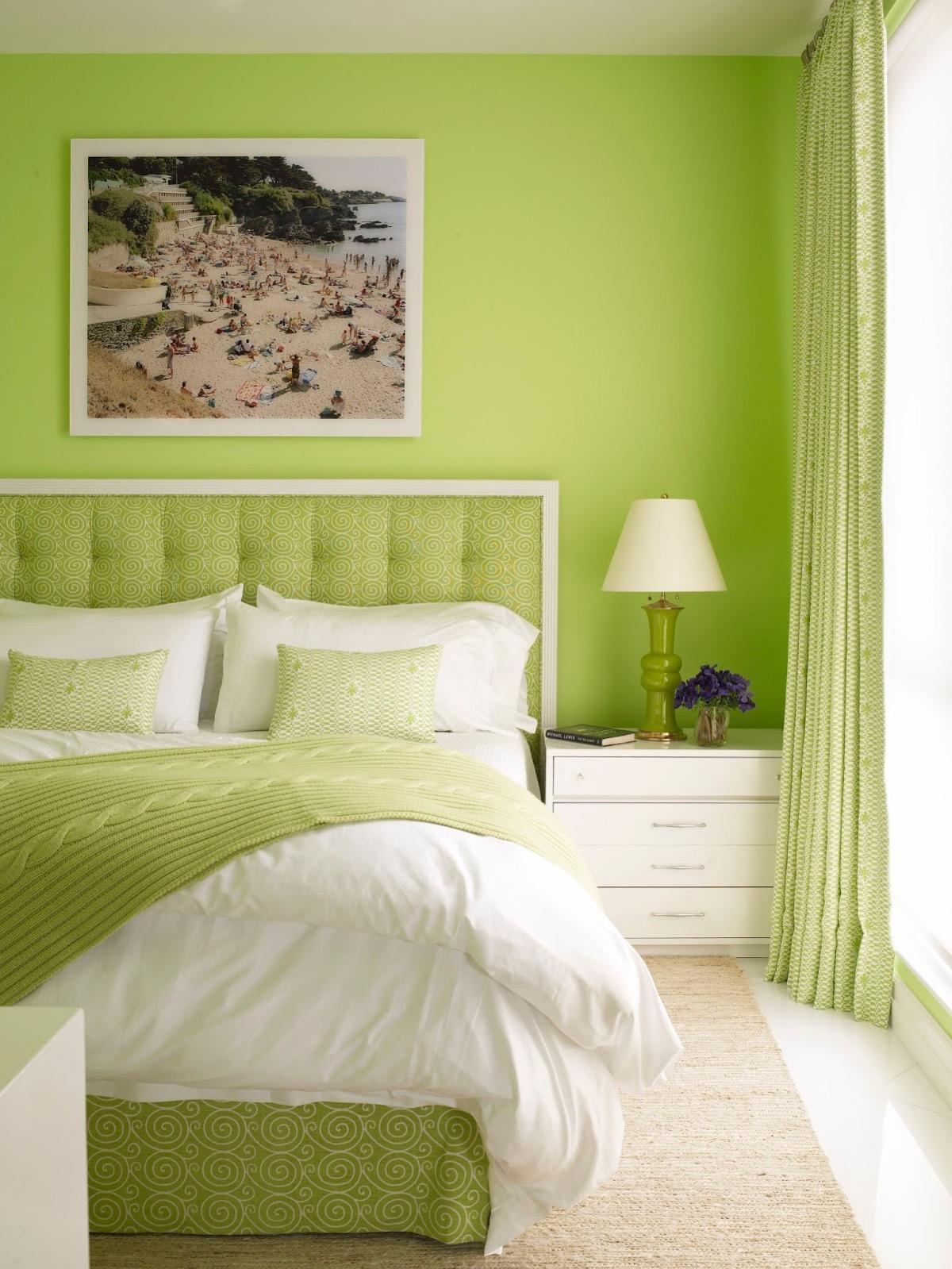 Lime Green Bedroom Decor Novocom Top