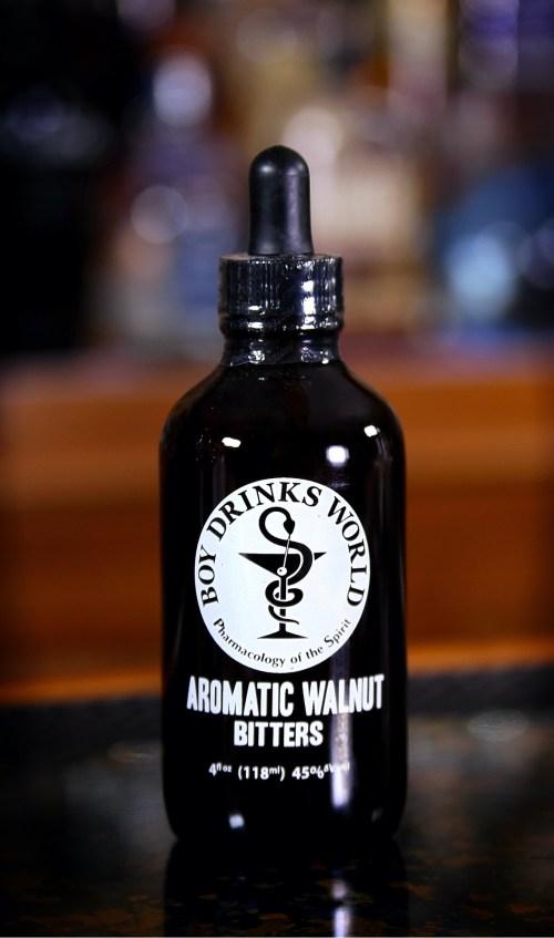 Boy Drinks World Aromatic Walnut Bitters